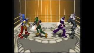 2V2 random - Ultimate Muscle: Legends VS New Generation