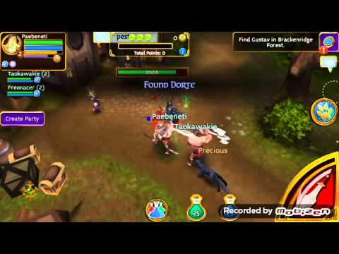 Arcane Legends First 2 Levels So Exerting Android /IOS  Games Play