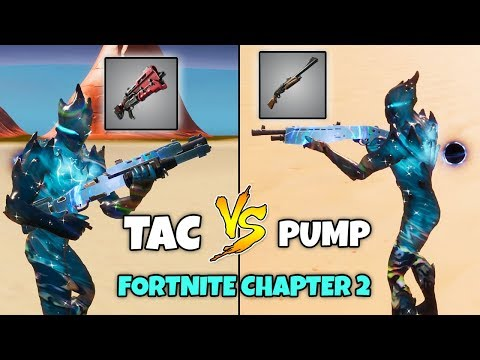 PUMP VS. TACTICAL SHOTGUN | Which Is Better In Chapter 2 Fortnite?