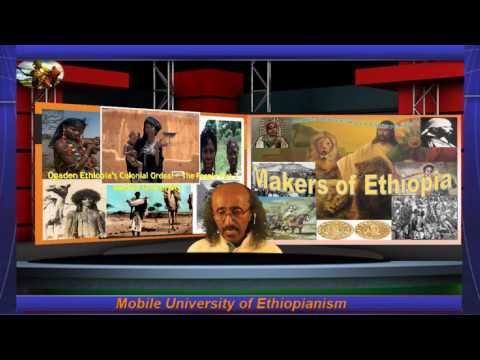 Taariikh sir culus Ogaden Ethiopia's Colonial Ordeal   The  People Part 2