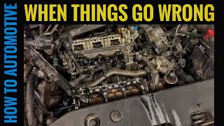When Things Go Wrong as a Mechanic