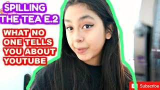 THE TRUTH ABOUT YOUTUBE!! Spilling the Tea E.2 B2cutecupcakes