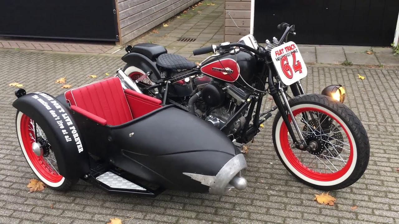 Harley Davidson Sportster Sidecar - YouTube