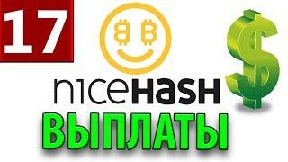 Nicehash ВЫПЛАТЫ! майнинг на GTX 1060 I пул vs nicehash miner I  биткоин 6000$