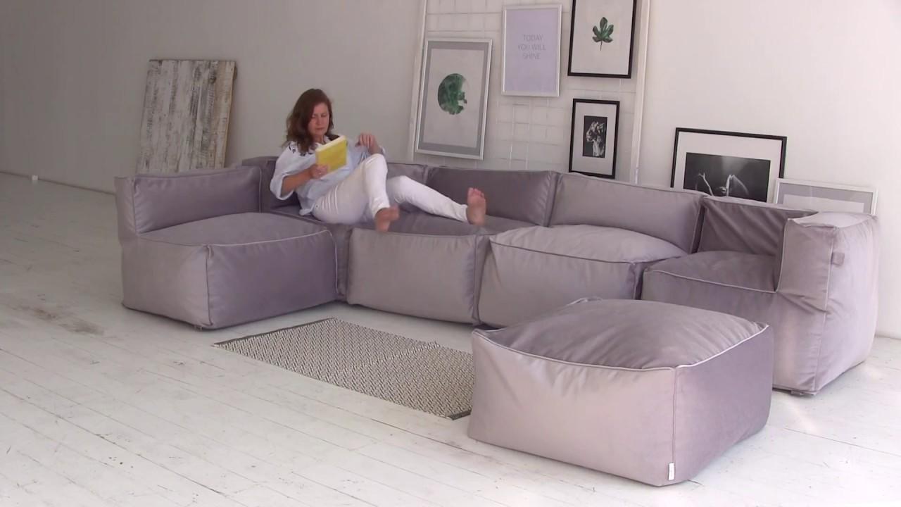 Модульные бескаркасные кресла-диваны