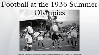 Football at the 1936 Summer Olympics
