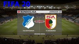 #fifa20 #bundesliga entre #tsghoffenheim y #fcaugsburgo en #prezeroarenalista de reproducción fifa 20: https://www./playlist?list=plwtuvp05tab_jea...