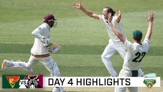 Queensland triumph amid final-day drama to topple Tigers | Marsh Sheffield Shield 2020-21