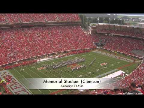 Top 25 College Football Stadiums