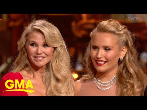 christie-brinkley's-daughter-hits-the-floor-on-'dwts'-|-gma
