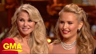Christie Brinkley's daughter hits the floor on 'DWTS' | GMA