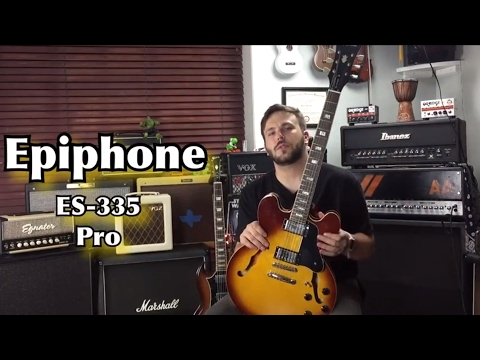 Epiphone ES-335 Pro Review/Demo