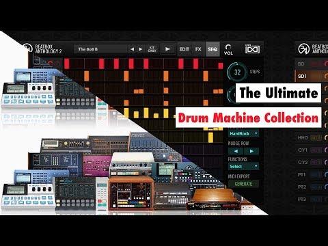 UVI Beatbox Anthology 2 Sound Demo - Samples From Elektron Analog Rytm, Drumbrute, TR-808,...