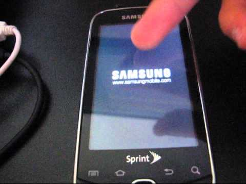 How to root the Samsung Intercept on Android 2.2