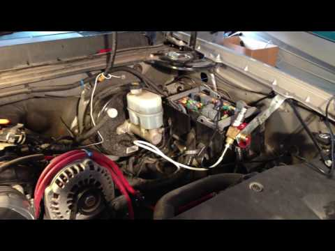 General overview of CNG injector installation from