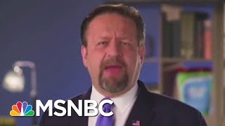 Former Trump Official Now Hawking Fish Pills | All In | MSNBC