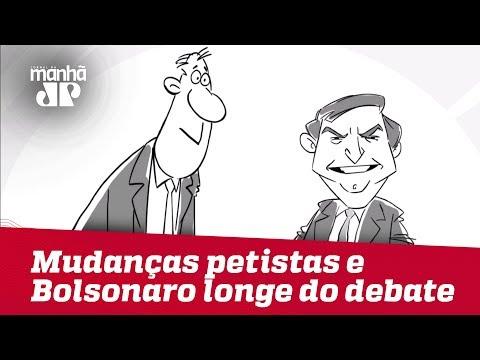Felipe Xavier: Mudanças petistas e Bolsonaro longe de debate