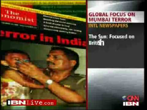Watch: Newspapers worldwide covers bombay siege