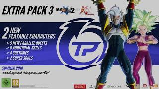 Dragon Ball Xenoverse 2 DLC Extra Pack #3 - SUPER BABY VEGETA 2 Official Gameplay Trailer!! DBX2