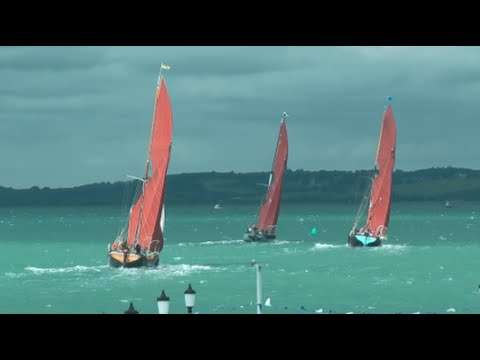 Southend Barge Match 2016