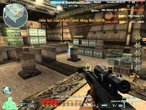 [CFVN]Clip test Zombie V4. Hoàng Lăng