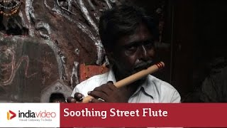 Soothing street flute music of Varanasi | India Video