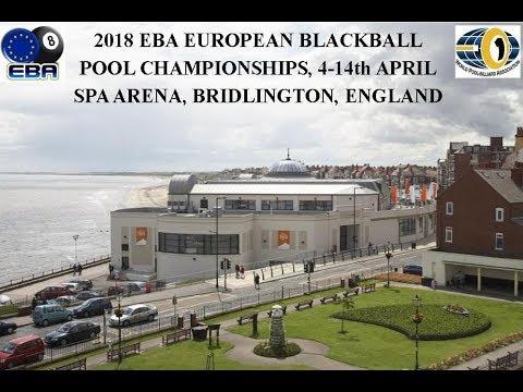 2018 EBA European Blackball Championships Seniors & Masters KO