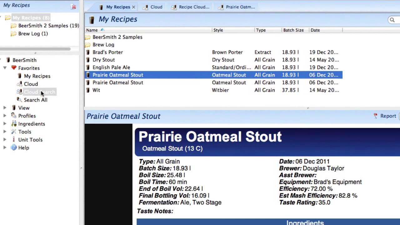 beersmith 3 equipment profile