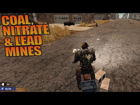 COAL, NITRATE AND LEAD MINES | 7 Days to Die | Let's Play Gameplay Alpha 16 | S16.4E71