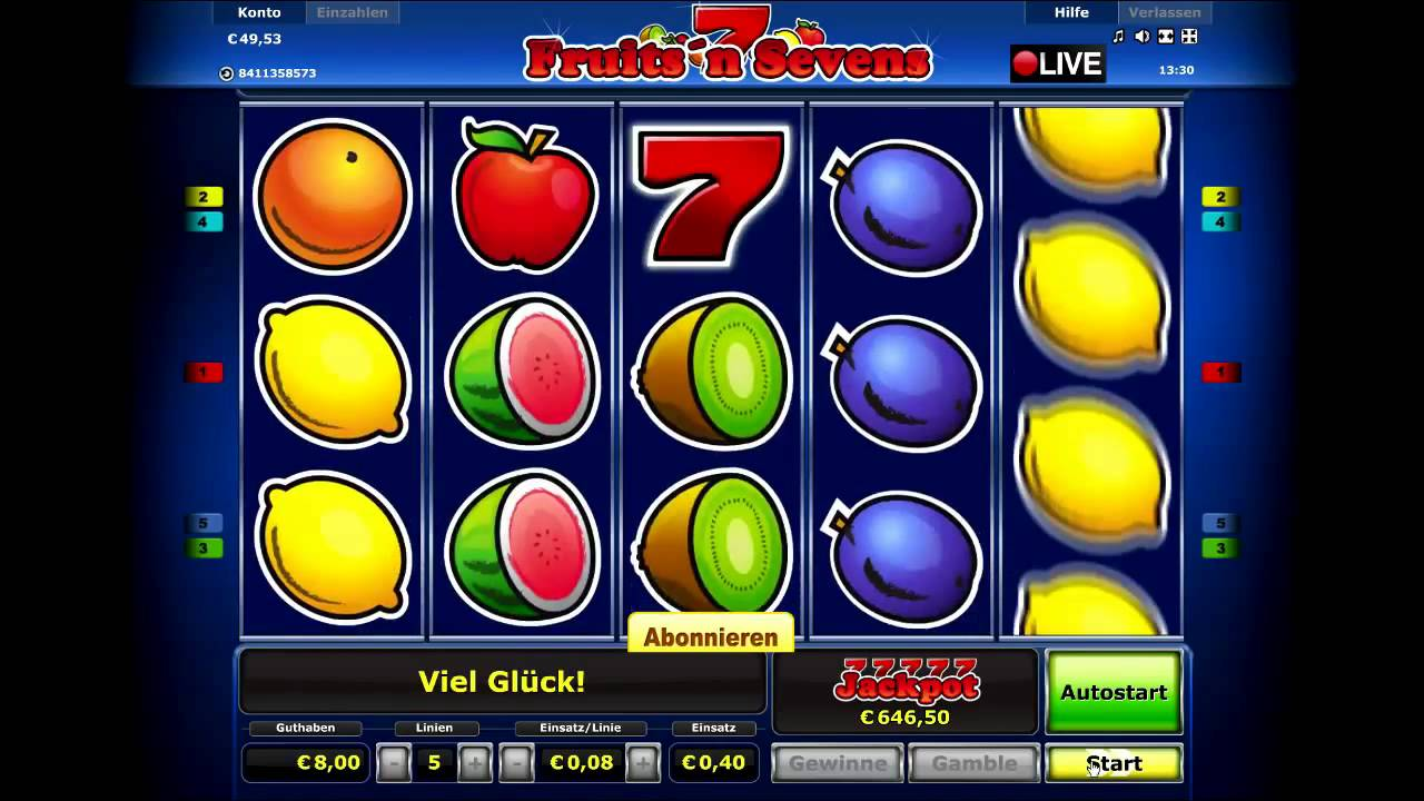 Slot machines fruit games latest video slots games