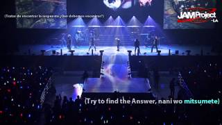 「CRY FOR THE EARTH」 JAM Project ~ THE MONSTERS PARTY ~ Sub. Español