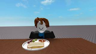 Vegan people at your lunch table | ROBLOX Animation