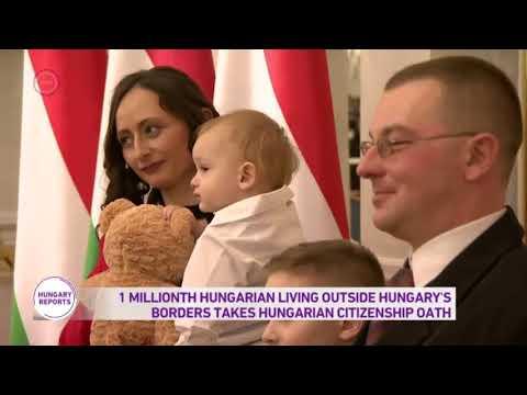 1 Millionth Hungarian Living Outside Hungary's Borders Takes Hungarian Citizenship Oath