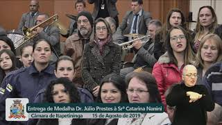 Sessão Solene - Catarina Aparecida Nanini Motta - 2019