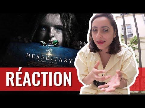 HÉRÉDITÉ : RÉACTION À CHAUD par KALINDI