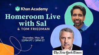 Homeroom with Sal & Tom Friedman
