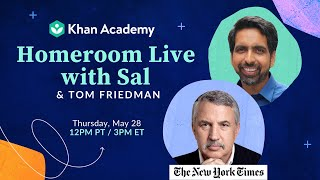 Homeroom with Sal & Tom Friedman