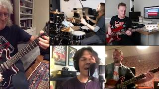 HAMMER TO FALL FULL BAND ISOLATION JAM w/BRIAN MAY