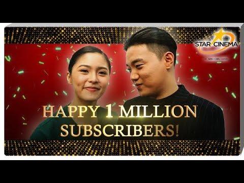 Playlist Happy 1 Million Subscribers, Star Cinema YouTube Channel!