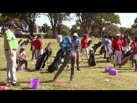 Clinic on day 3 at Lusaka Golf Club