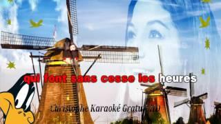 Frida Boccara Les moulins de mon coeur karaoké