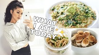 What I Eat On A School Day! Healthy, Vegan & Easy Meal Ideas