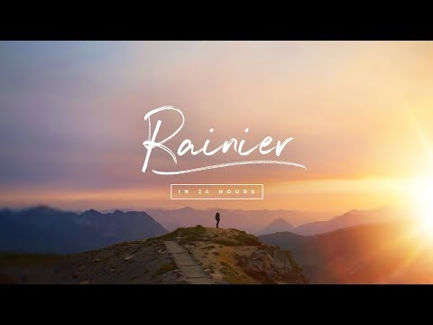 ROAD TRIP - 24 hours in Mount Rainier