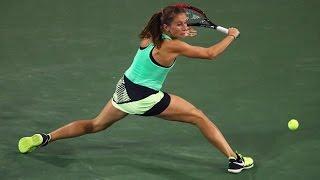 2017 BNP Paribas Open First Round | Annika Beck vs Genie Bouchard | WTA Highlights