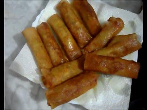 "Recette des cigares au Thon / Tuna Rolls recipe / ""brick"" صوابع بريك"