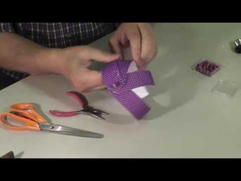 Papír gömb dísz készítése kartonpapírból lépésről lépésre