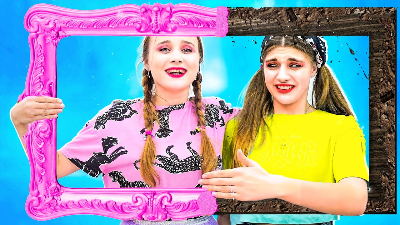 Хорошая VS Плохая Приемная Сестра    Настоящие различия и веселые ситуации из жизни друзей
