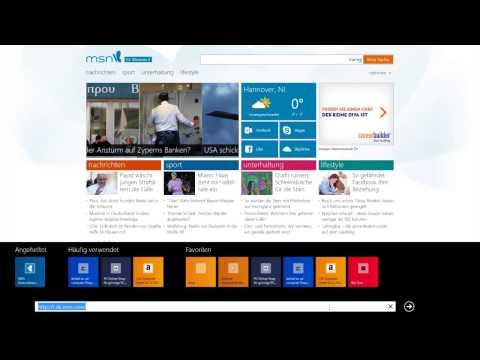 Windows 8 - Teil 6: Internet Explorer