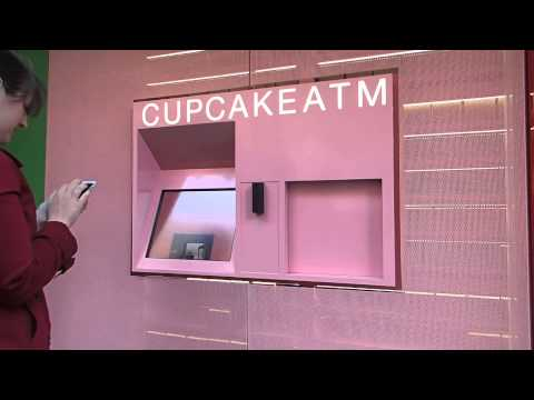 Cupcake ATM in New York
