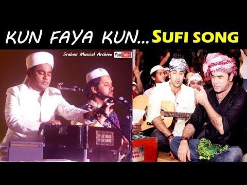 Kun Faya Kun - Sufi Song | AR Rahman | Mohit Chauhan | Javed Ali | Irshad Kamil | Rockstar | Ranbir